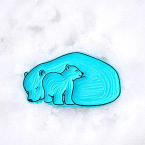 Ana Sola carvado de sellos osos