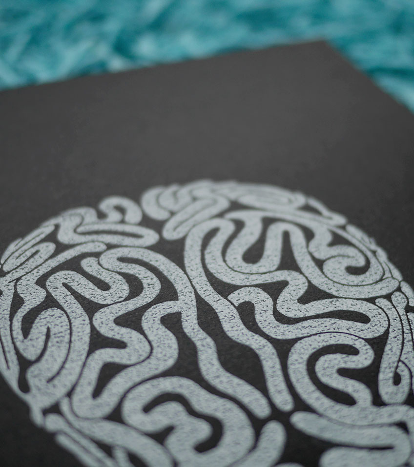 Ana Sola lámina cerebro detalle