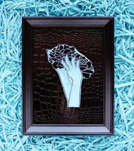 Sello-carvado-flor-peonia-Ana-Sola