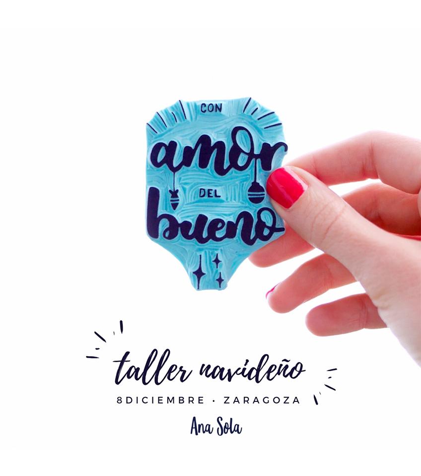 taller navideno sellos Ana Sola