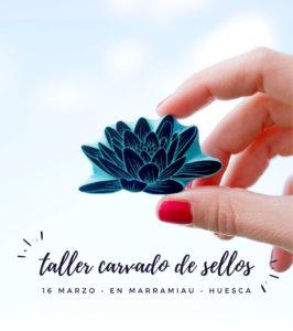 taller-carvado-de-sellos-huesca-ana-sola