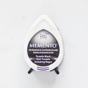 tinta-memento-mini-tuxedo-black-esmoking-negro-materiales-carvado-sellos-ana-sola
