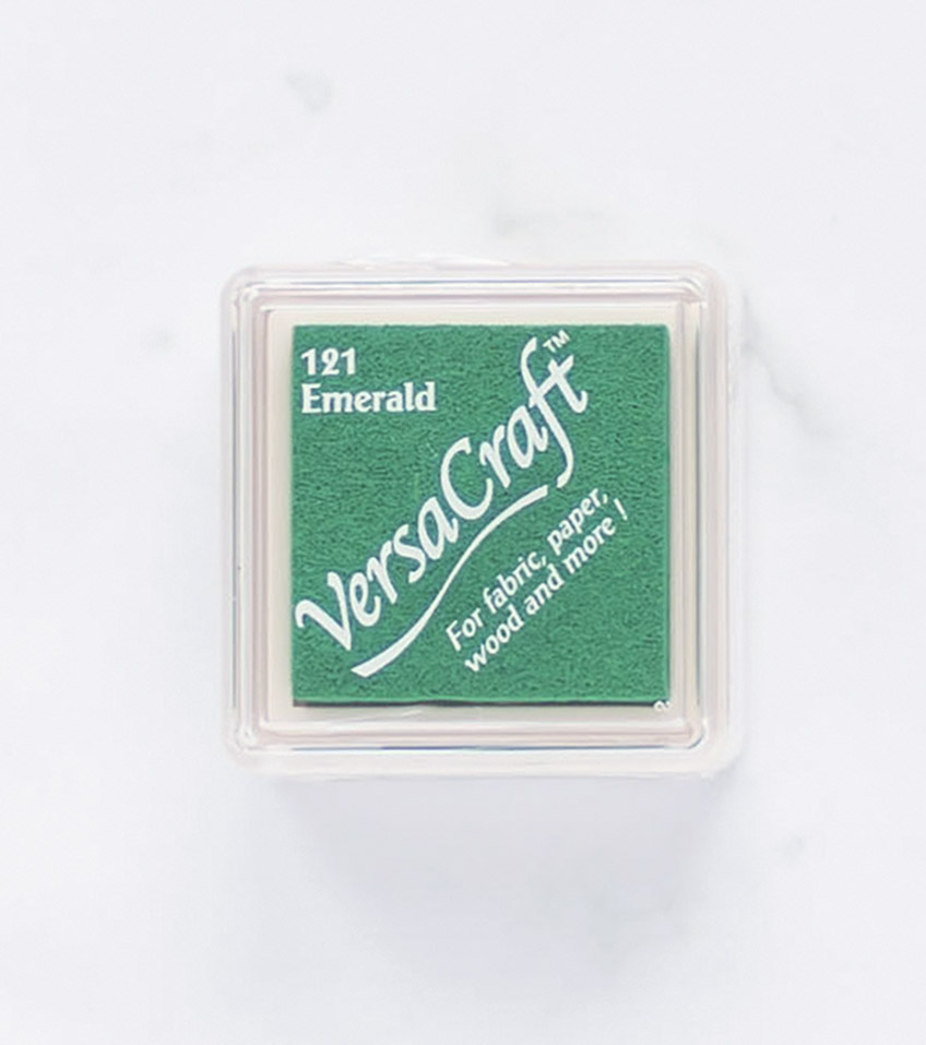 tinta-versacraft-mini-emerald-esmeralda-materiales-carvado-sellos-ana-sola