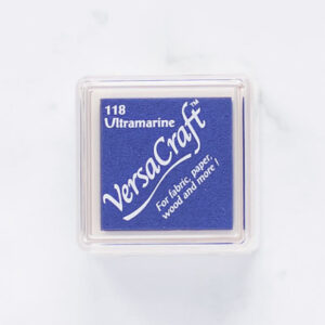 tinta-versacraft-mini-ultramarine-azul-ultramarino-materiales-carvado-sellos-ana-sola