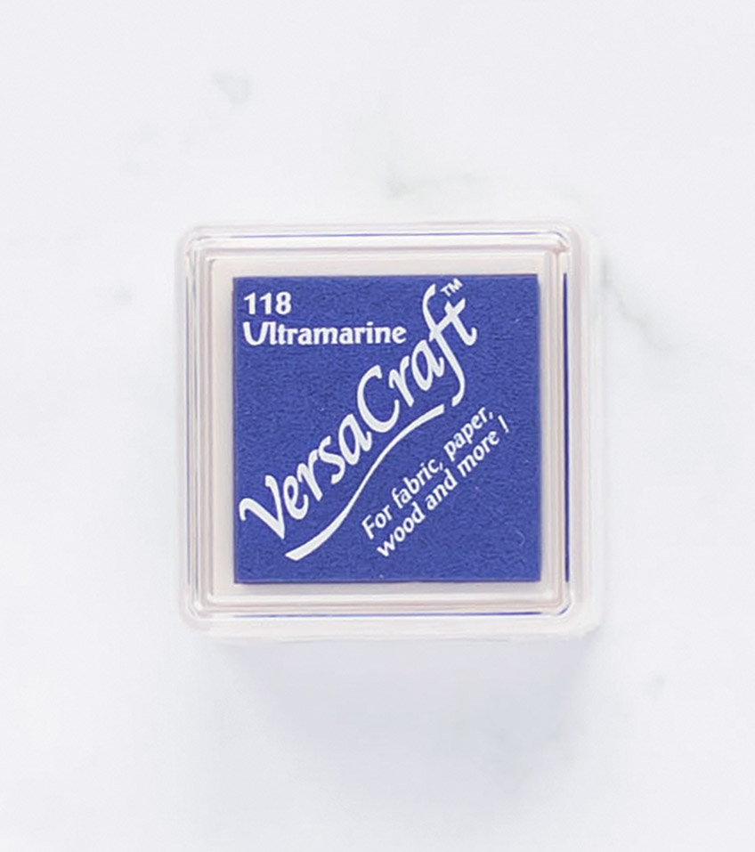 tinta-versacraft-mini-ultramarine-azul-ultramarino-materiales-carvado-sellos-ana-sola
