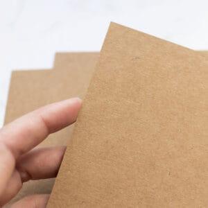 cartulina-kraft-A4-materiales-carvado-sellos-ana-sola