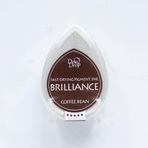 tinta-brilliance-mini-coffee-bean-grano-de-cafe-materiales-carvado-sellos-ana-sola