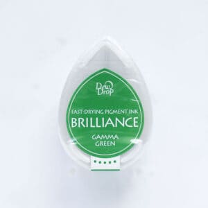 tinta-brilliance-mini-gamma-green-verde-brillante-materiales-carvado-sellos-ana-sola