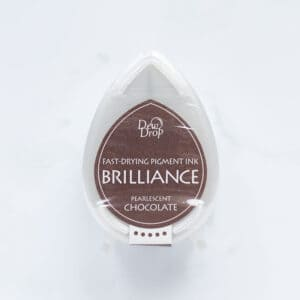 tinta-brilliance-mini-pearlescent-chocolate-perlado-materiales-carvado-sellos-ana-sola