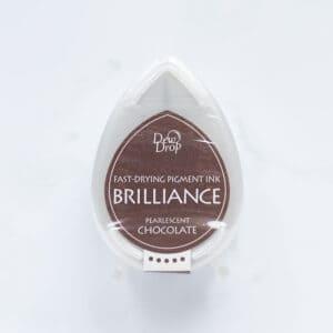 tinta-brilliance-mini-pearlescent-chocolate-perlado-materiales-carvado-sellos-ana-sola