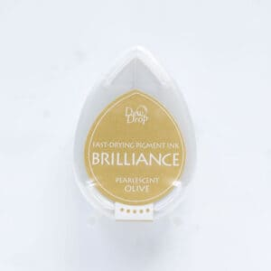 tinta-brilliance-mini-pearlescent-olive-oliva-perlado-materiales-carvado-sellos-ana-sola