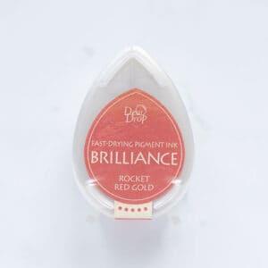 tinta-brilliance-mini-rocket-red-gold-oro-rojizo-materiales-carvado-sellos-ana-sola