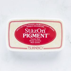 tinta-stazOn-pigment-passion-red-rojo-pasion-materiales-carvado-sellos-ana-sola