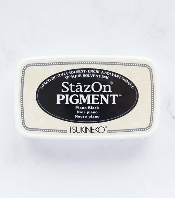 tinta-stazOn-pigment-piano-black-negro-piano-materiales-carvado-sellos-ana-sola
